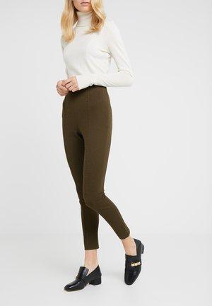 CAROLINE ESSENTIAL PANTS - Leggings - urban green