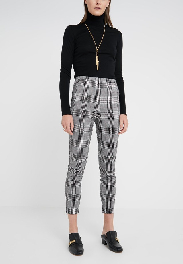 HIP SOHO CHECK PANTS - Stoffhose - multicolor