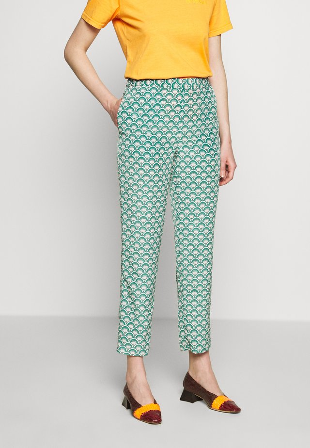 ESTELLE BAHIA PANTS - Stoffhose - tropical