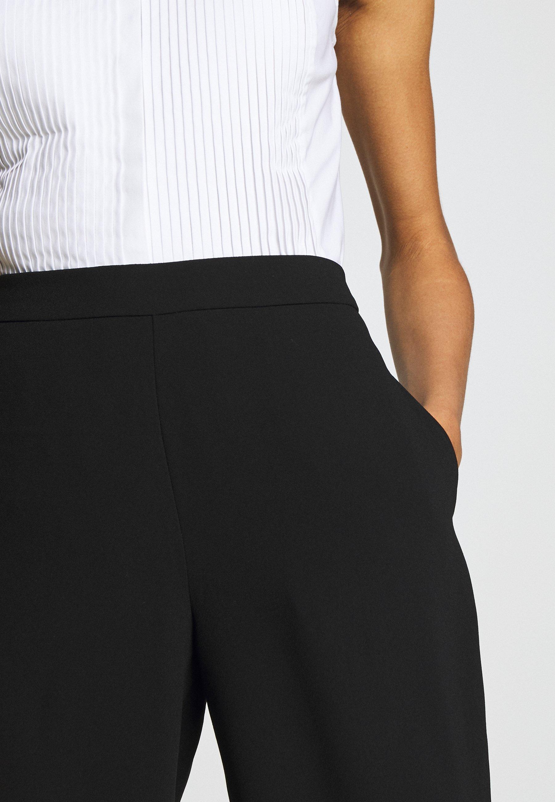 Steffen Schraut CAROL DARLING PANTS - Spodnie materiałowe - black