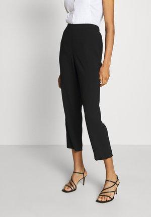 CAROL DARLING PANTS - Kalhoty - black