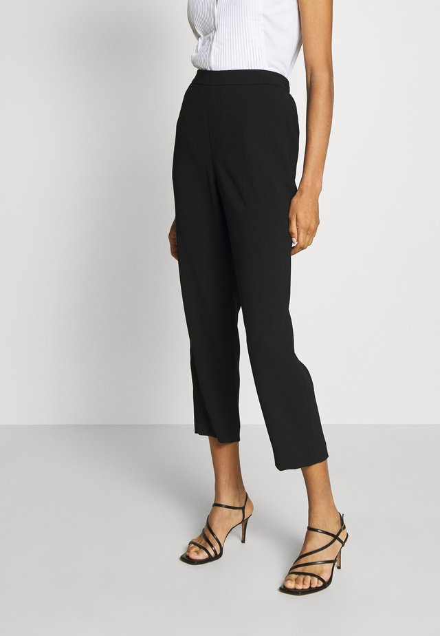 CAROL DARLING PANTS - Stoffhose - black