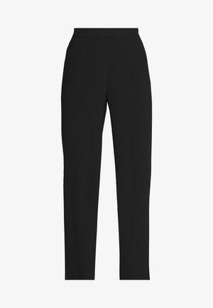 CAROL DARLING PANTS - Kangashousut - black