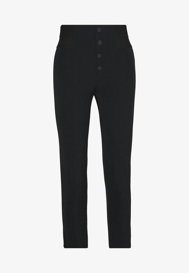 SOHO FASHION PANTS - Stoffhose - black