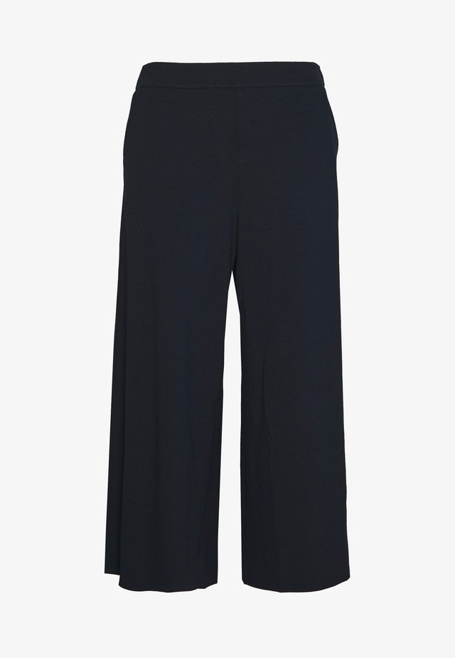 GERMAIN CULOTTES - Trousers - dark blue