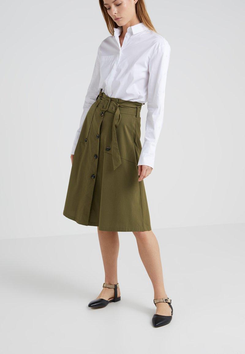 Steffen Schraut - VICTORIA FANCY SKIRT - A-line skirt - vintage green