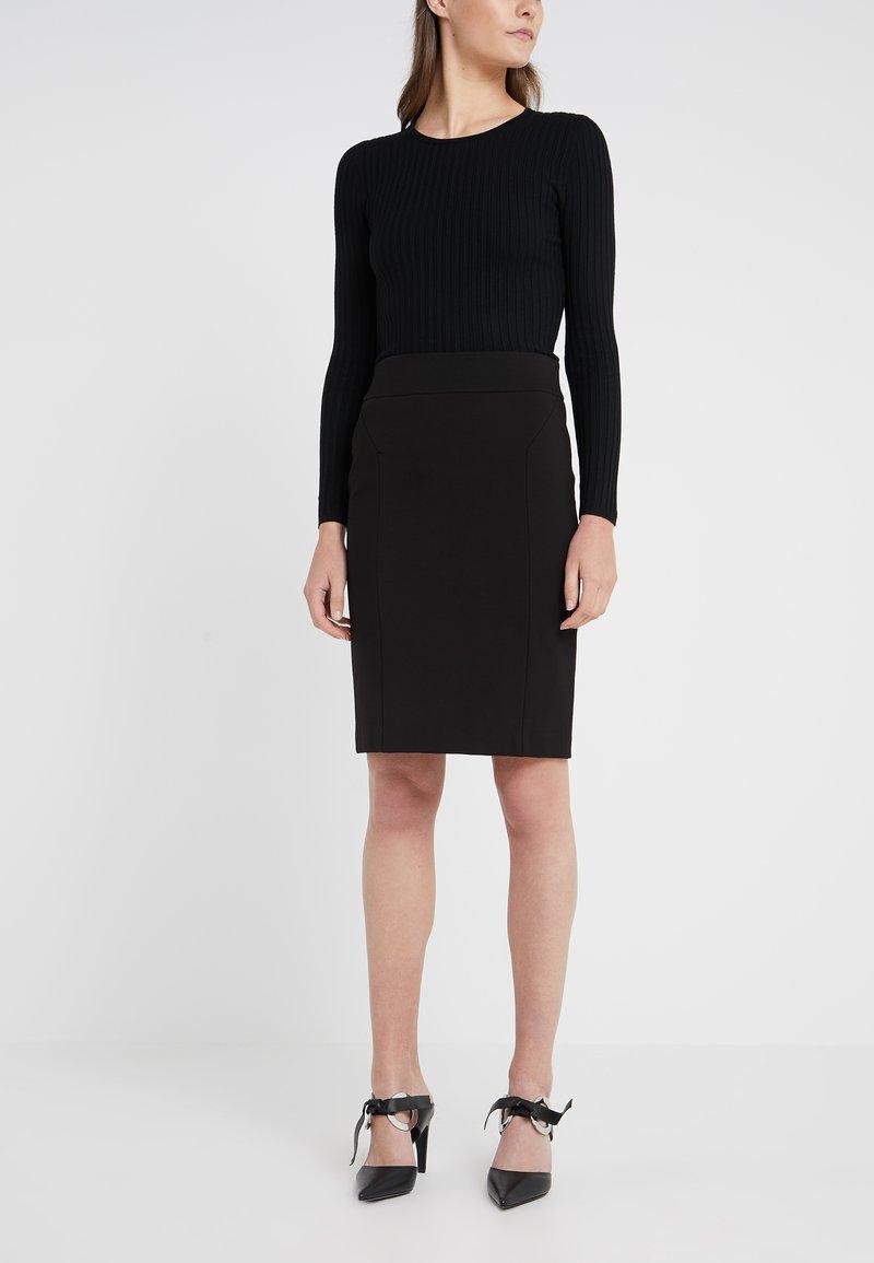 Steffen Schraut - CAROLINE PENCIL SKIRT - Pencil skirt - black