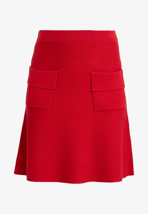 POCKET SKIRT - Áčková sukně - rebel red