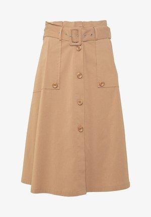 EXCLUSIVE SUMMER SKIRT - Áčková sukně - desert