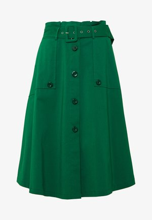 EXCLUSIVE SUMMER SKIRT - Áčková sukně - ocean green