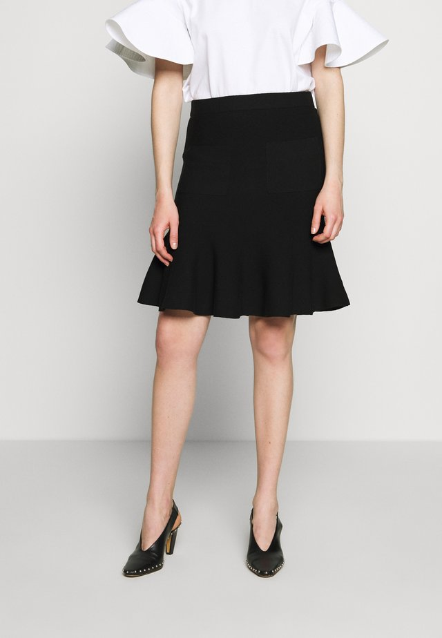 CYNTHIA LOVELY KNIT SKIRT - Bleistiftrock - black