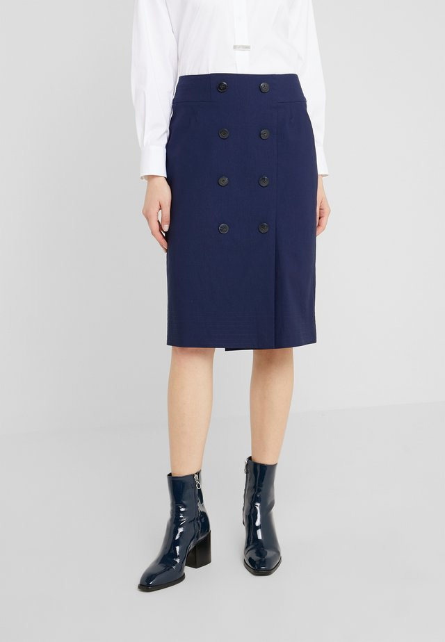 JOSEFINE SKIRT - Pencil skirt - navy