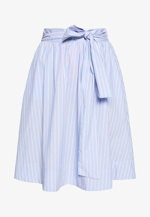 BENITA SKIRT - Áčková sukně - light blue