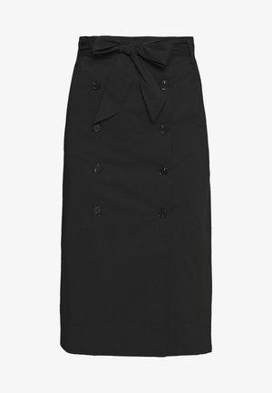 BELLA ADVENTUROUS SKIRT - Pouzdrová sukně - black