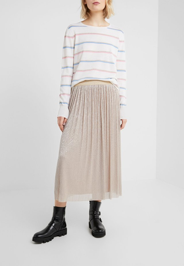 CLEO SKIRT - A-line skirt - golden glam
