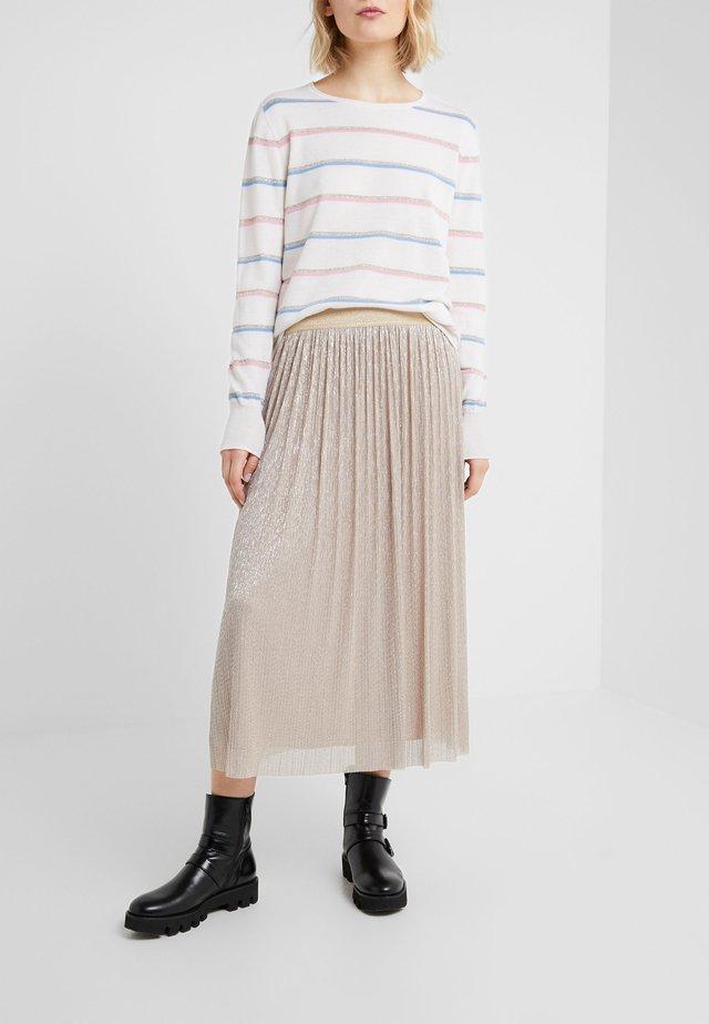 CLEO SKIRT - Áčková sukně - golden glam