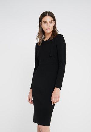 MEGHAN LOVELY BOW DRESS - Neulemekko - black