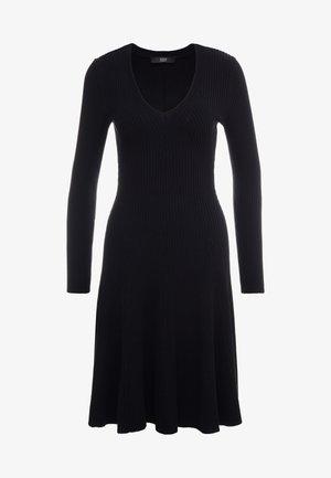 DRESS SPECIAL - Strikket kjole - black