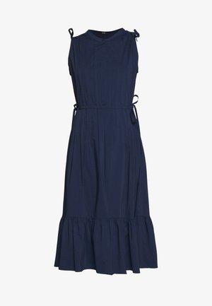 EXCLUSIVE SLEEVELESS BLOUSE DRESS - Denní šaty - navy