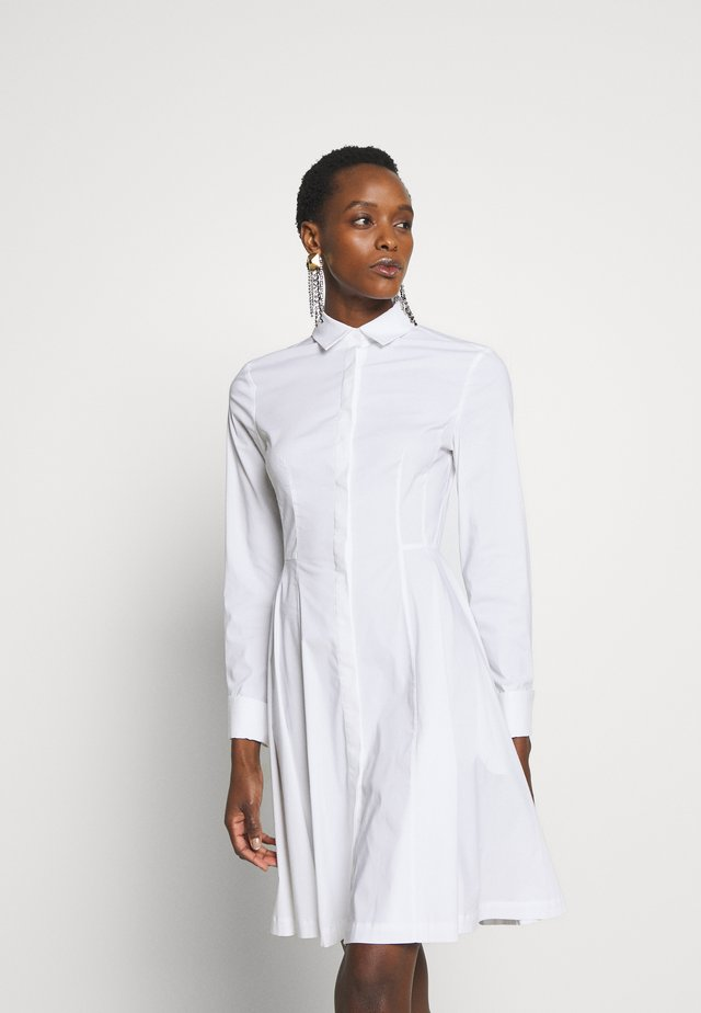 EXCLUSIVE BLOUSE DRESS - Blousejurk - white
