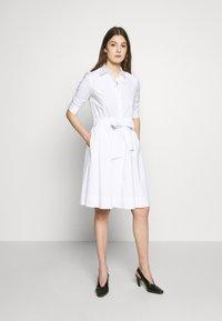 Steffen Schraut - BRENDAS SUMMER DRESS - Košilové šaty - white - 0