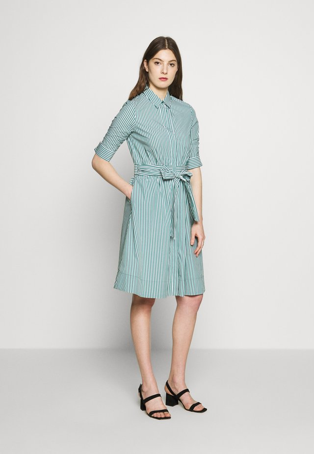 BRENDAS SUMMER DRESS - Shirt dress - green stripe