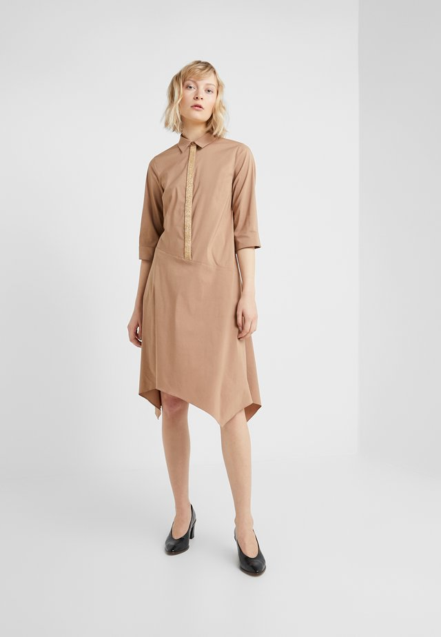 BELLE LOVELY DRESS - Shirt dress - desert