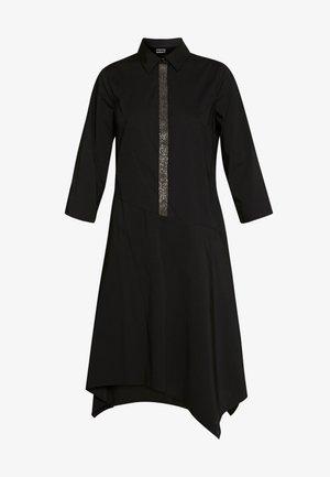 BELLE LOVELY DRESS - Skjortekjole - black