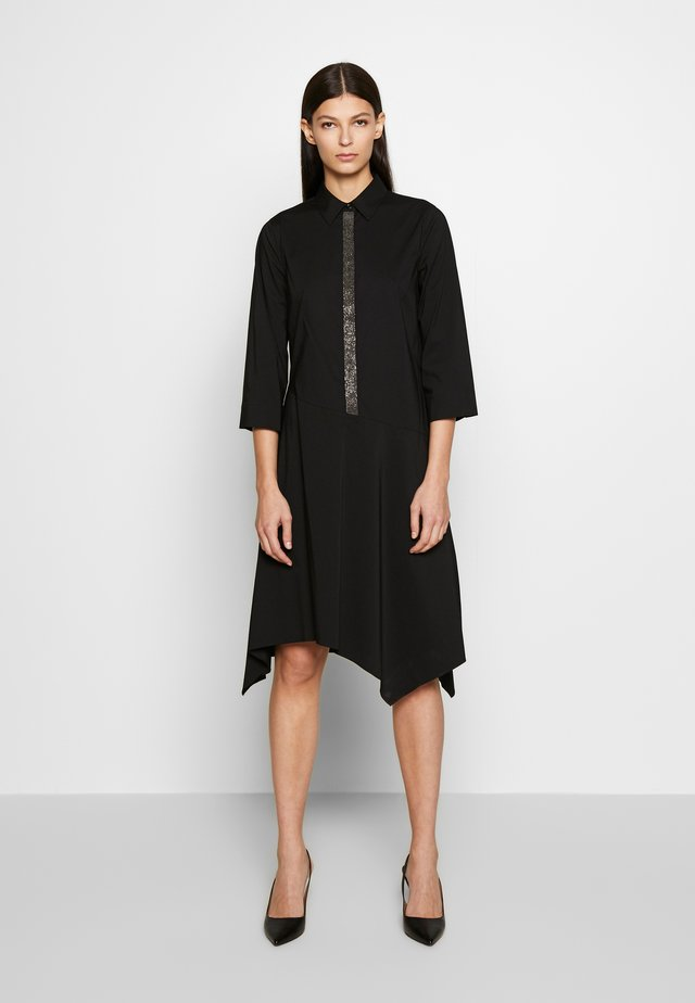 BELLE LOVELY DRESS - Blousejurk - black
