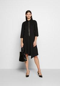 Steffen Schraut - BELLE LOVELY DRESS - Košilové šaty - black - 1