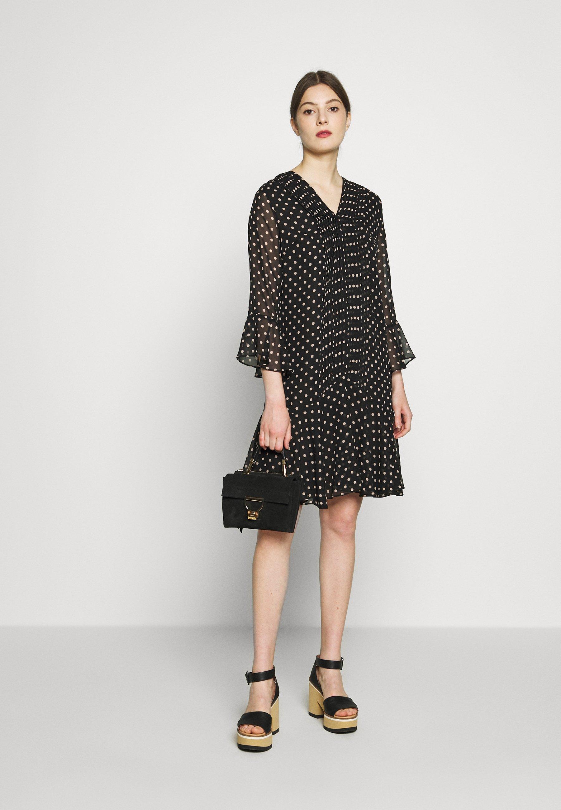 Steffen Schraut ESTELLE FASHIONISTA PATCH DRESS - Sukienka letnia - black/white