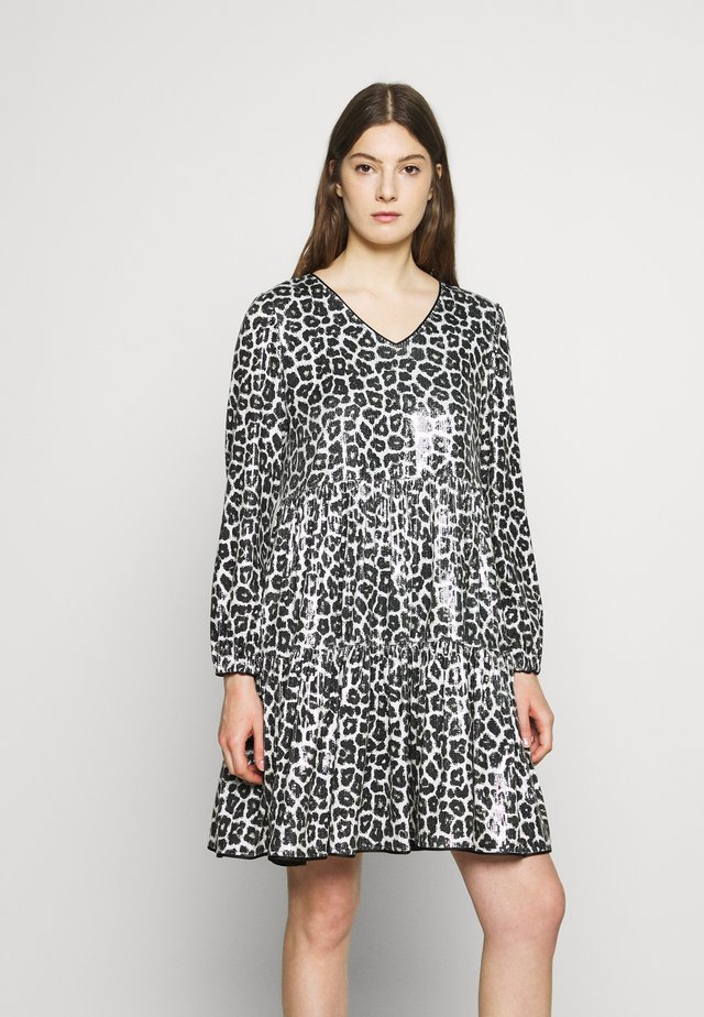 THE WILD DRESS - Korte jurk - black/beige