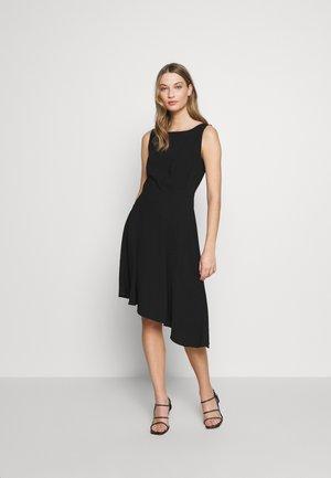 CAROL LONG SUMMER DRESS - Koktejlové šaty/ šaty na párty - black