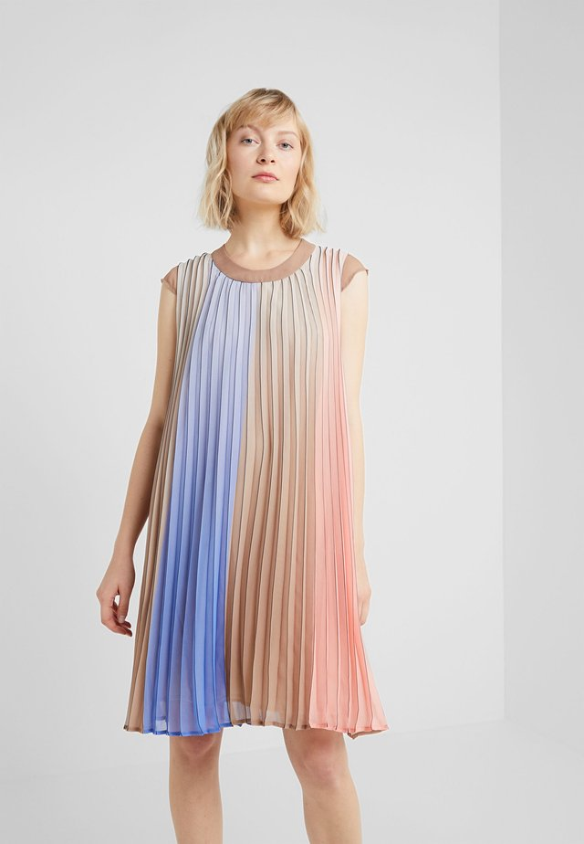 ISABELLE PLEATED DRESS - Korte jurk - multi color