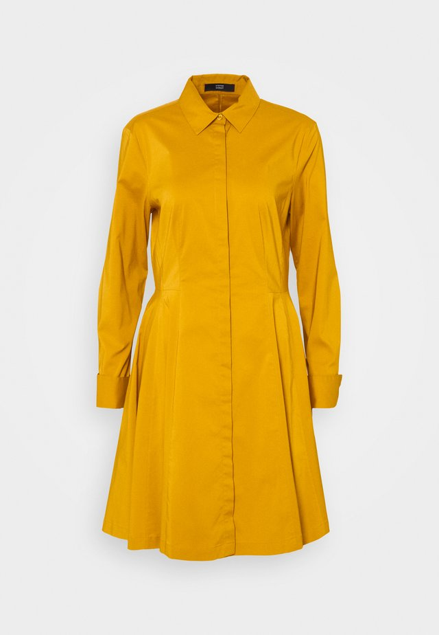 EXCLUSIVE BLOUSE DRESS - Shirt dress - gold