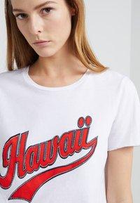 Steffen Schraut - HAWAII GLAM - T-Shirt print - white - 4