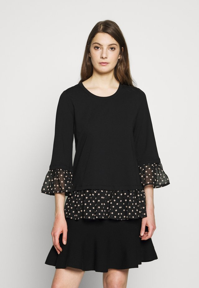 OLIVIA LOVELY  - Long sleeved top - black