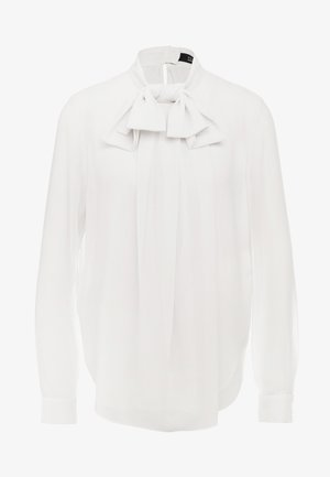 MATHILDE COOL BOW BLOUSE - Blouse - almond