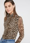 Steffen Schraut - JULIA ROLL NECK SHIRT - Long sleeved top - wild cat