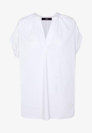 EXCLUSIVE VNECK BLOUSE - Blouse - white