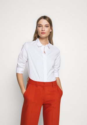 BENITA ESSENTIAL BLOUSE - Button-down blouse - white