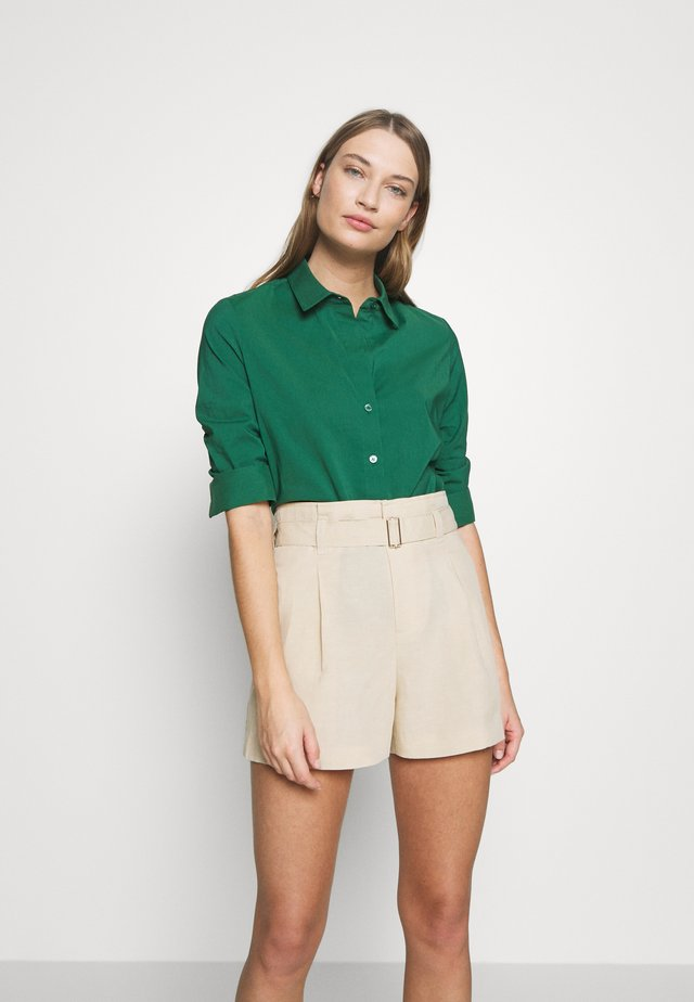 BENITA ESSENTIAL BLOUSE - Button-down blouse - ocean green