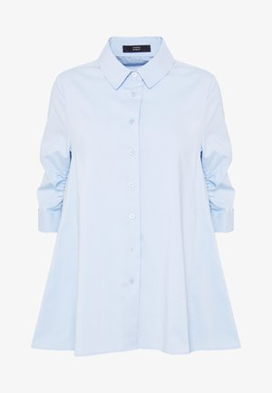 BENITA FASHIONABLE BLOUSE - Button-down blouse - summer cloud