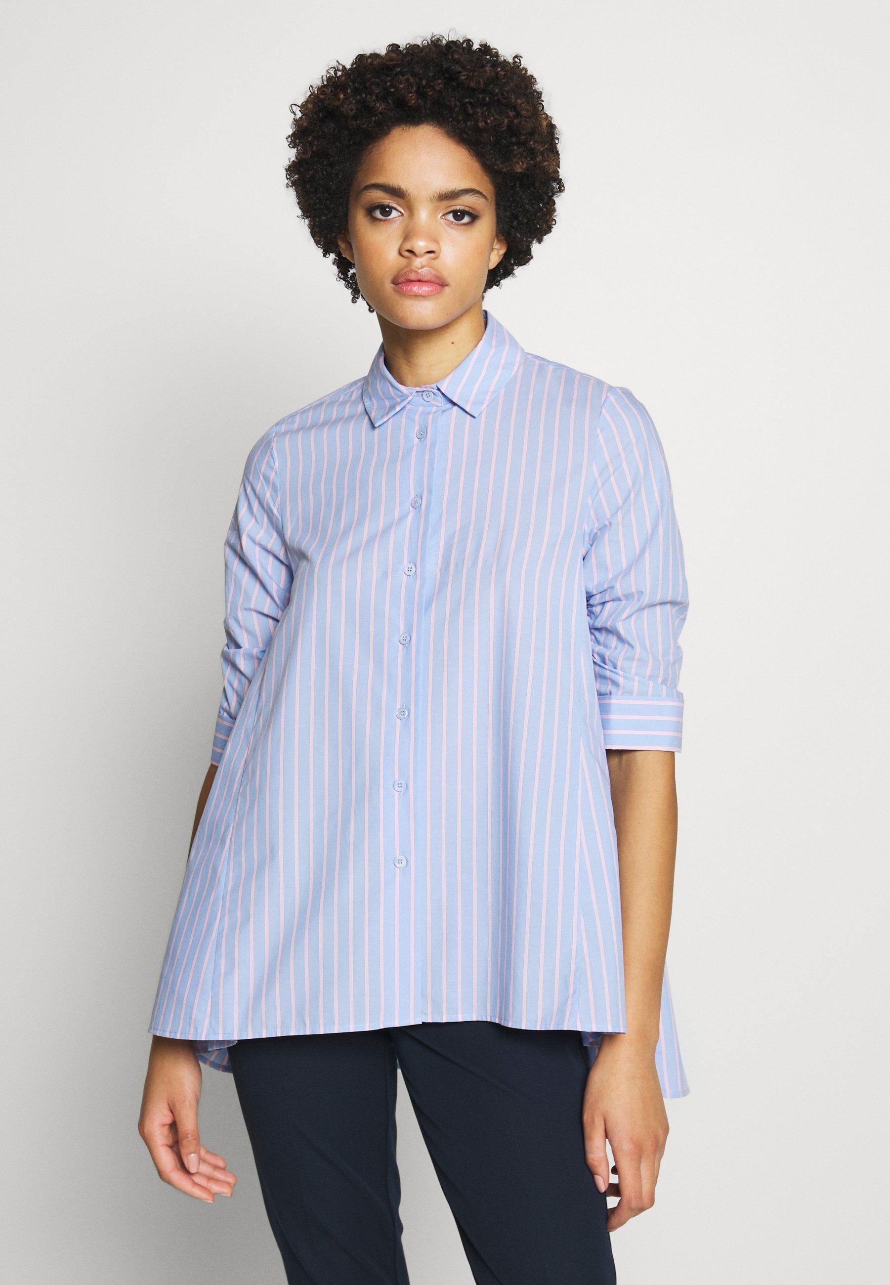 Steffen Schraut BENITA FASHIONABLE BLOUSE - Skjorte - light blue/pink