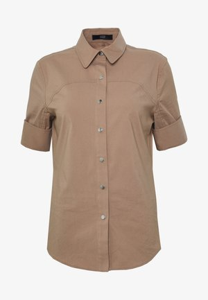 BELLA FANCY BLOUSE - Skjortebluser - desert