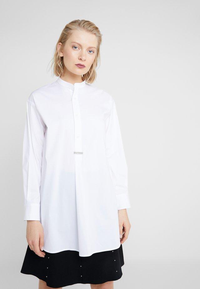 BELLE TUNIC SHIRT - Blůza - white