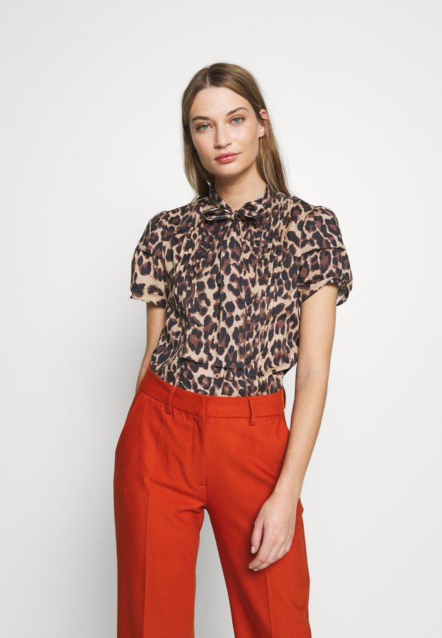 TULUM BLOUSE - Camicia - brown