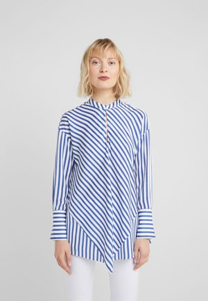 SUMMER HYPE STRIPE BLOUSE - Bluser - cool blue
