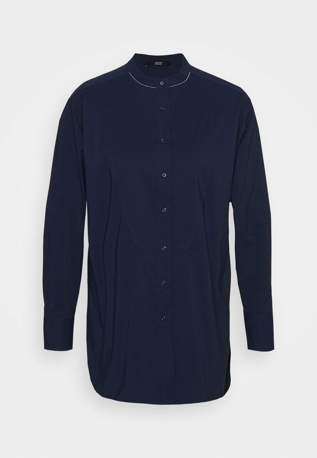 CLEMANDE FARMERS GLAM - Button-down blouse - dark blue