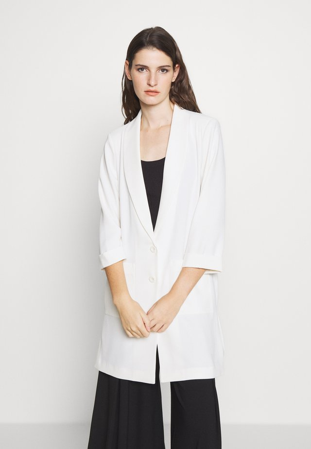 CAROL LONG SUMMER BLAZER - Blazer - white